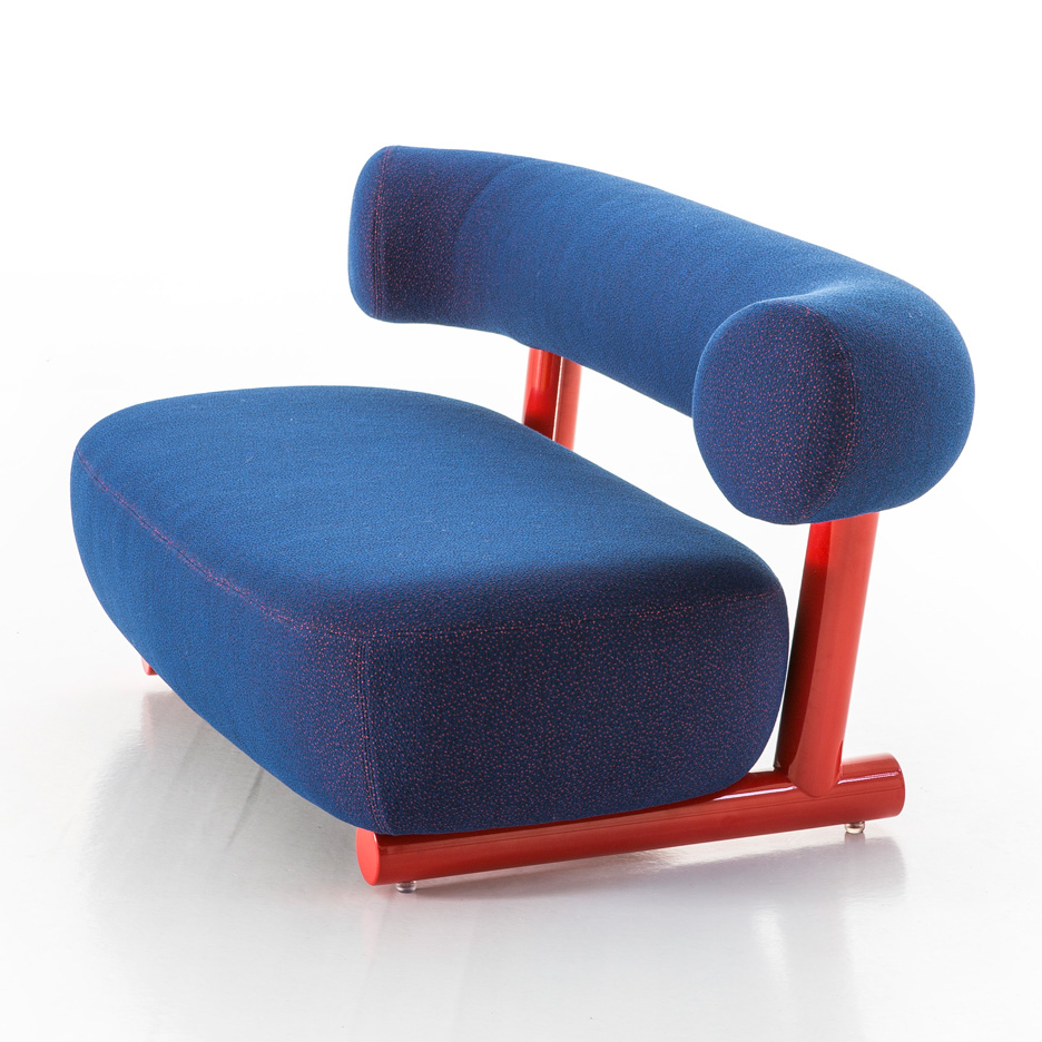 "Sebastian Herkner's Pipe furniture collection for Moroso is ""not just about function"""