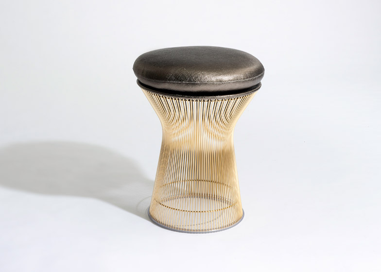 jacobsen furniture. Platner And Bertoia In Gold For Knoll Jacobsen Furniture