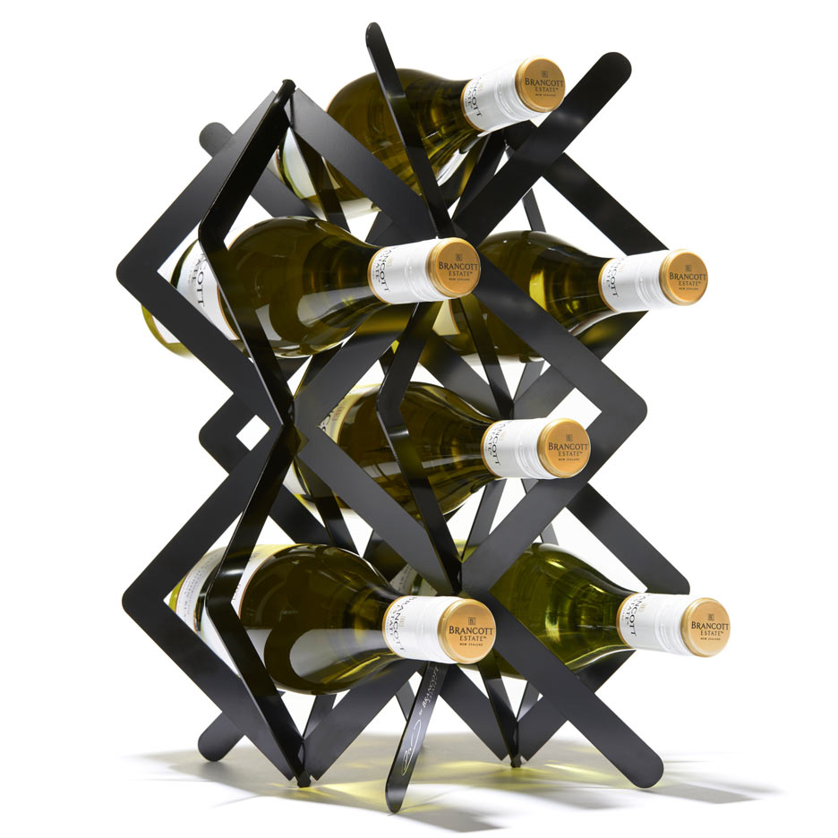 "Studio Dror's wine rack for Brancott Estate is ""a little piece of sculpture"""