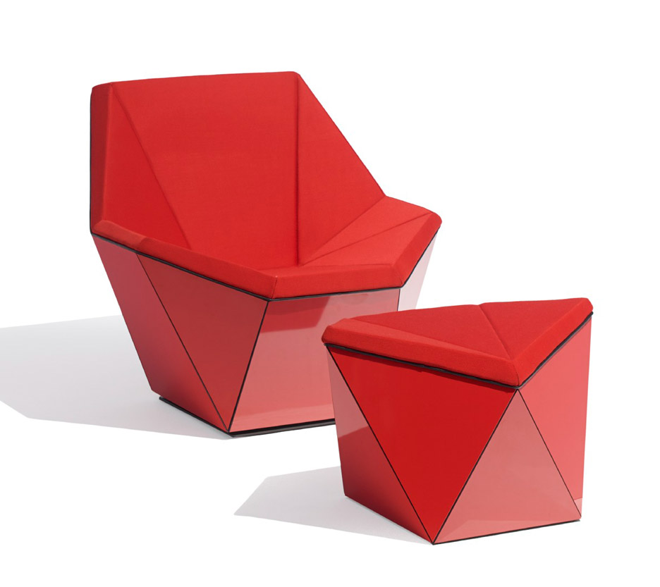 Prism Lounge Series for Washington Collection by David Adjaye for Knoll