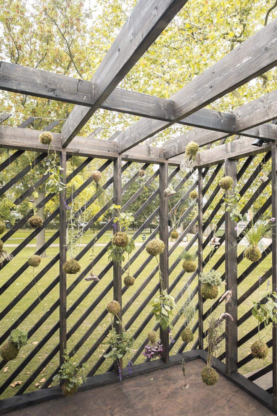 Claridge Architects' pavilion for Plants Out Of Place exhibition