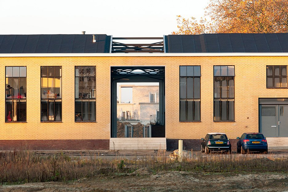 RAG building by Piet Hein Eek