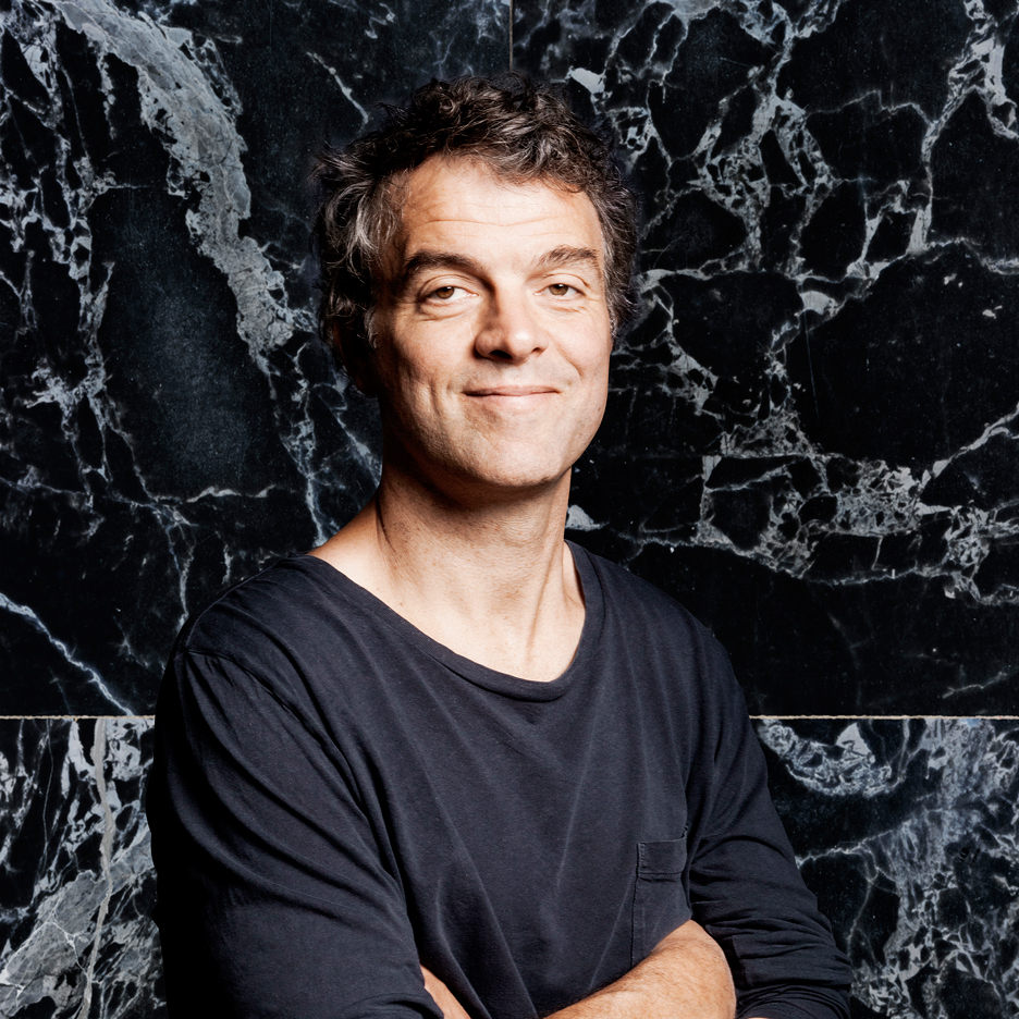 Dutch furniture designer Piet Hein Eek