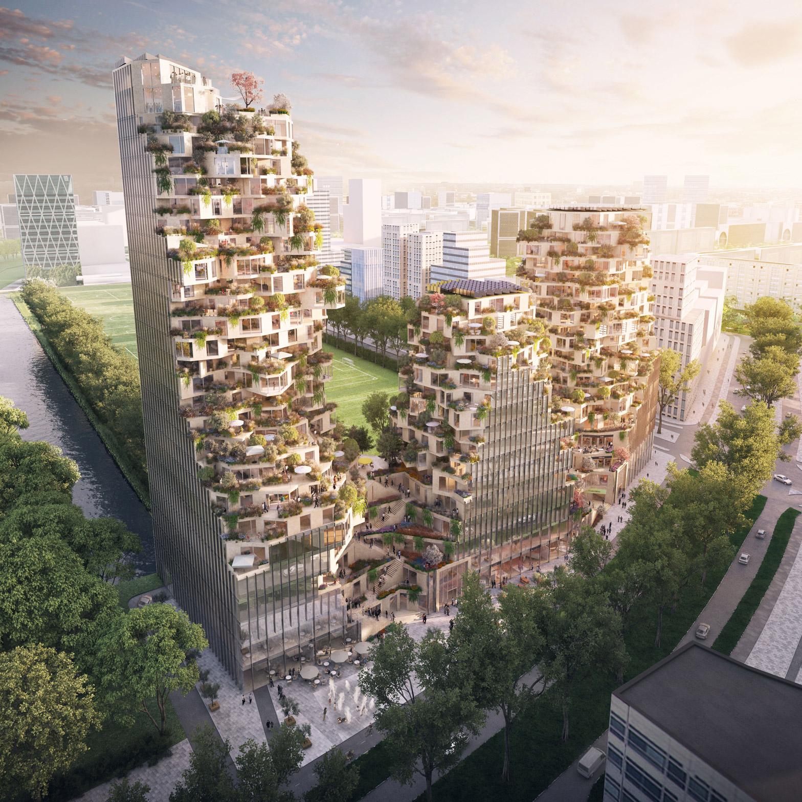 Ravel Plaza Amsterda by MVRDV
