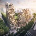 MVRDV's plant-covered proposal wins Ravel Plaza Amsterdam competition