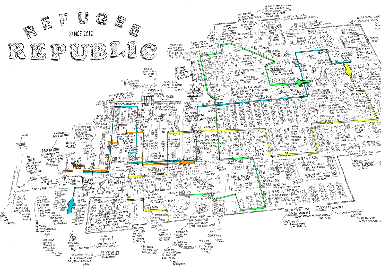 Refugee Republic by Submarine Channel, winner in communication and Future Award winner