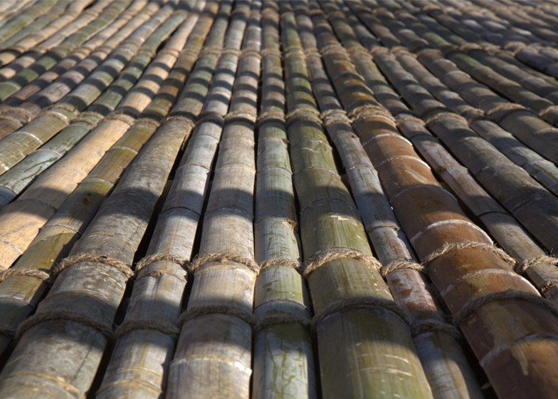 Rising Canes bamboo pavilion by Penda for Beijing Design Week 2015