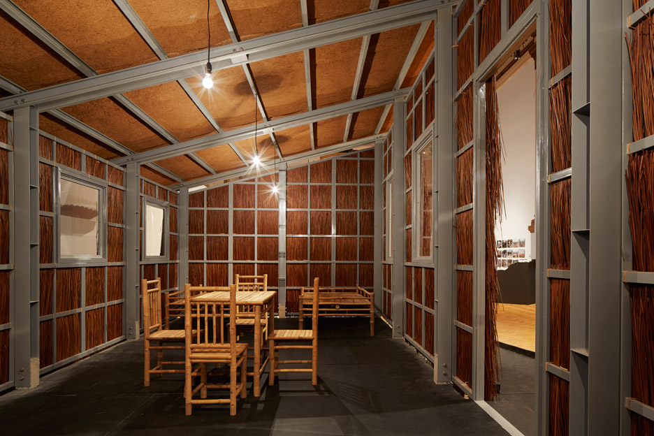 Vo Trong Nghia Architects' low-cost housing for Chicago Architecture Biennial 2015