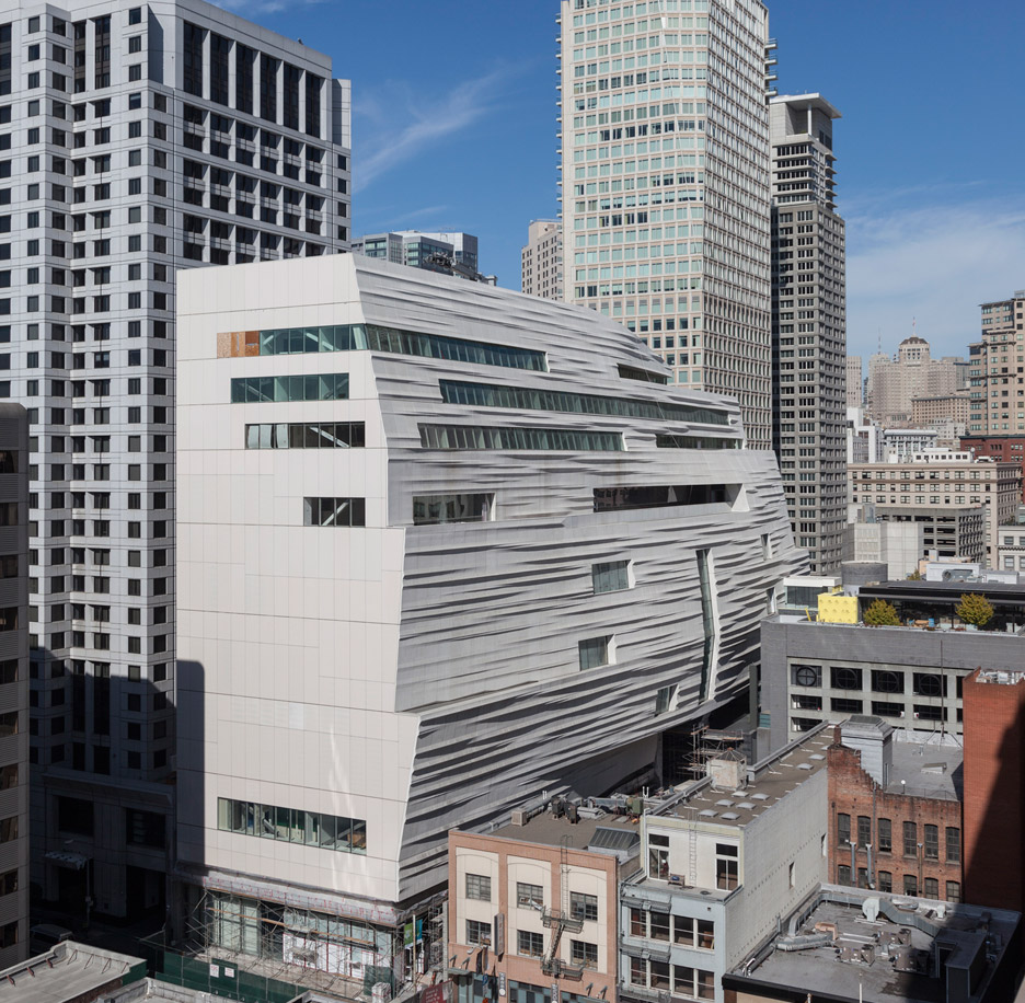 Snøhetta's new building for SFMOMA nears completion