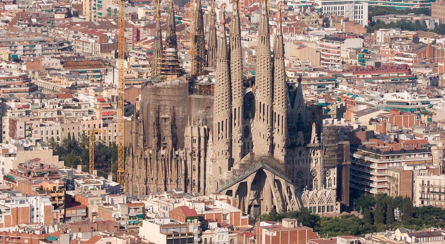 Sagrada Familia Antoni Gaudi