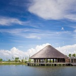 "Thatched ""umbrella-like"" roof tops bamboo community centre by Vo Trong Nghia"