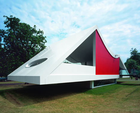 Serpentine Gallery Pavilion 2003 by Oscar Niemeyer