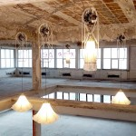 Studio Drift installs moving Shylights in disused Eindhoven building