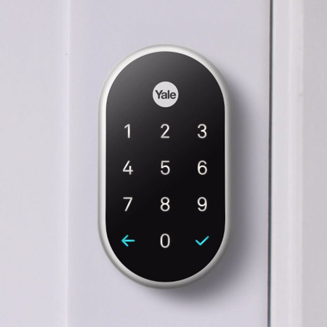 Smart lock by Nest and Yale