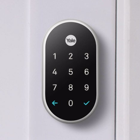 Yale partners with Nest to launch keyless Linus smartlock