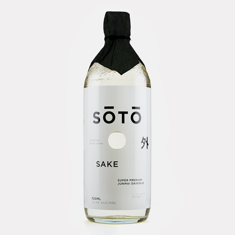 Joe Doucet encourages westerners to drink sake with SŌTŌ bottle design