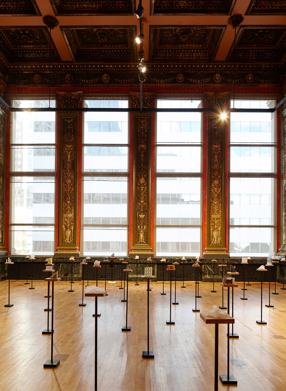 Sou Fujimoto's Architecture Is Everywhere installation at Chicago Architecture Biennial 2015
