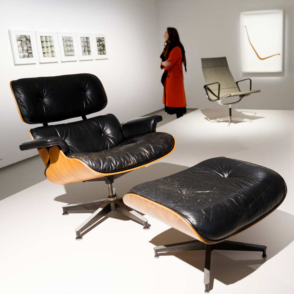 Eames Lounge Chair at Barbican exhibition