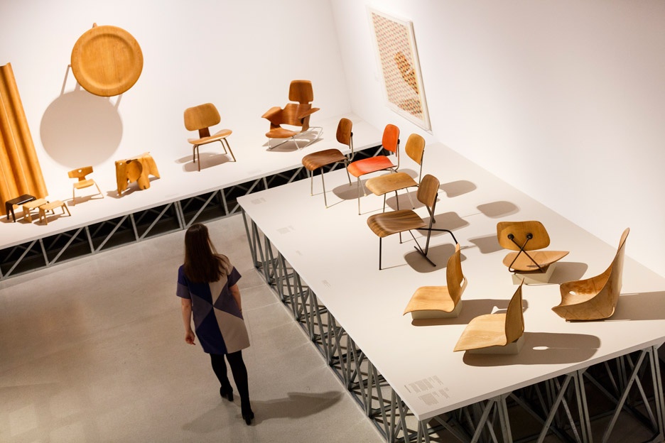 The World of Charles and Ray Eames exhibition at the Barbican