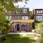 Tate Harmer creates ribbed timber house extension in west London