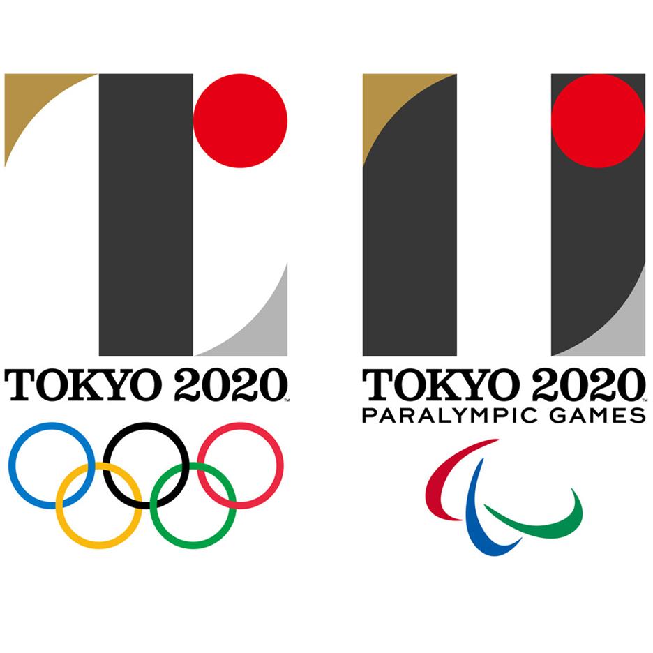 Tokyo 2020 Olympics logo by Kenjiro Sano