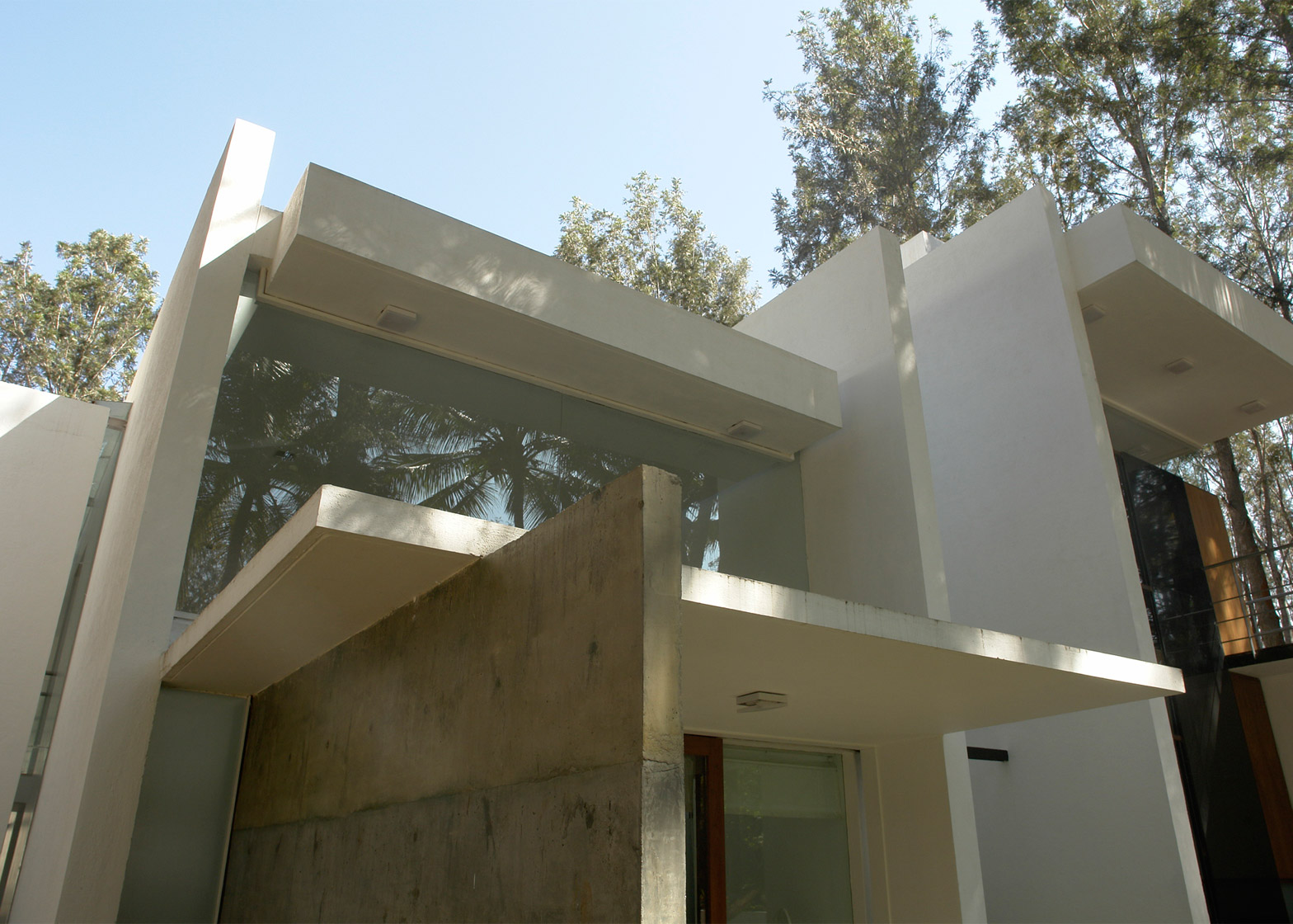 Tyagi S House By Ochre Has Skylit Swimming Pool