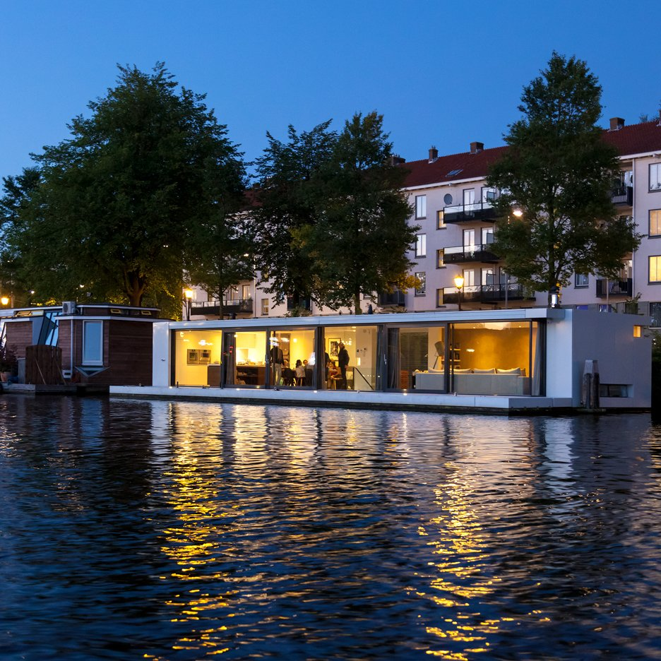 Watervilla Weesperzijde by +31 Architects, Amsterdam