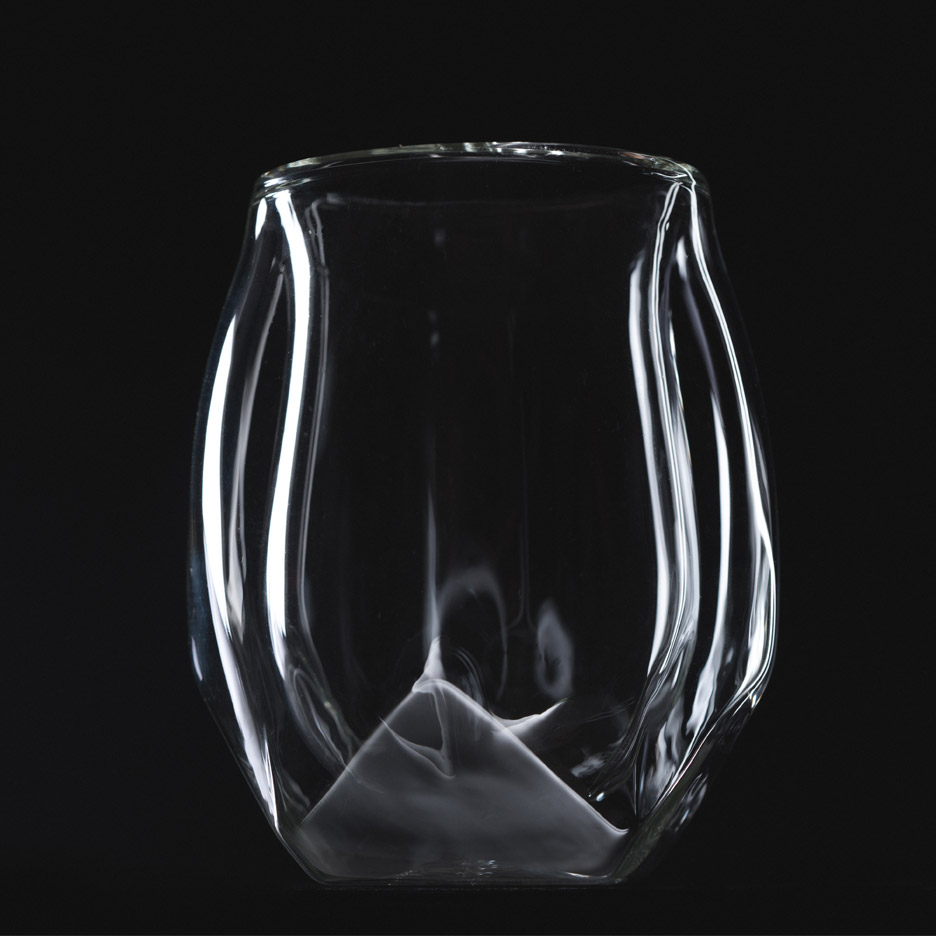 Whiskey glass by Norlan Glass