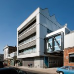 Haworth Tompkins adds another building to Royal College of Art's Battersea campus