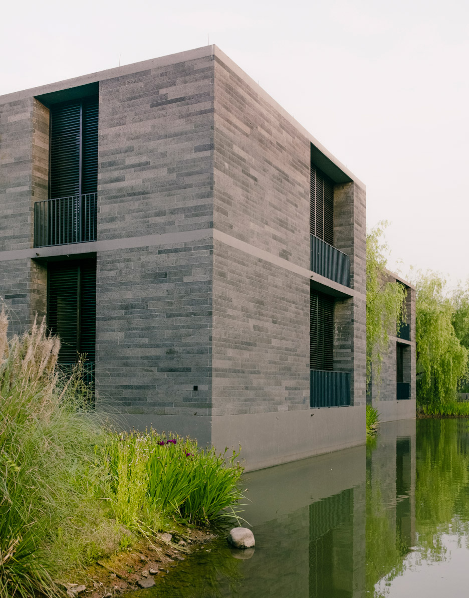 Xixi Wetland Estate by David Chipperfield