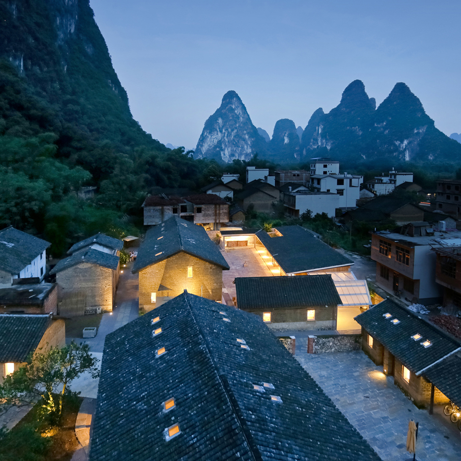 Ares Partners and Atelier Liu Yuyang transform old Chinese farmhouses into mountain resort