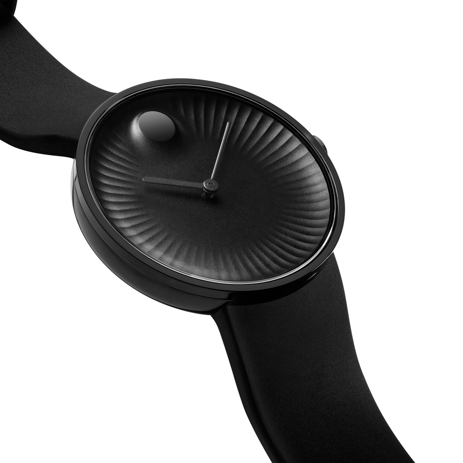 Yves Béhar's Edge is an update on a classic Movado watch