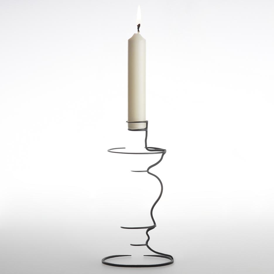 Kishu candlestick by Maya Selway
