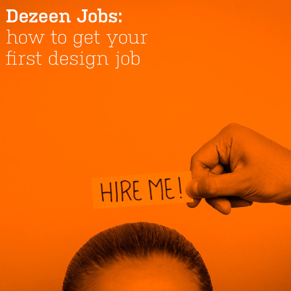 How to get your first design job