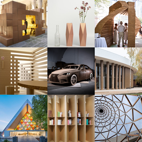 Explore Images Of Cardboard Architecture And Design On Our New Pinterest Board