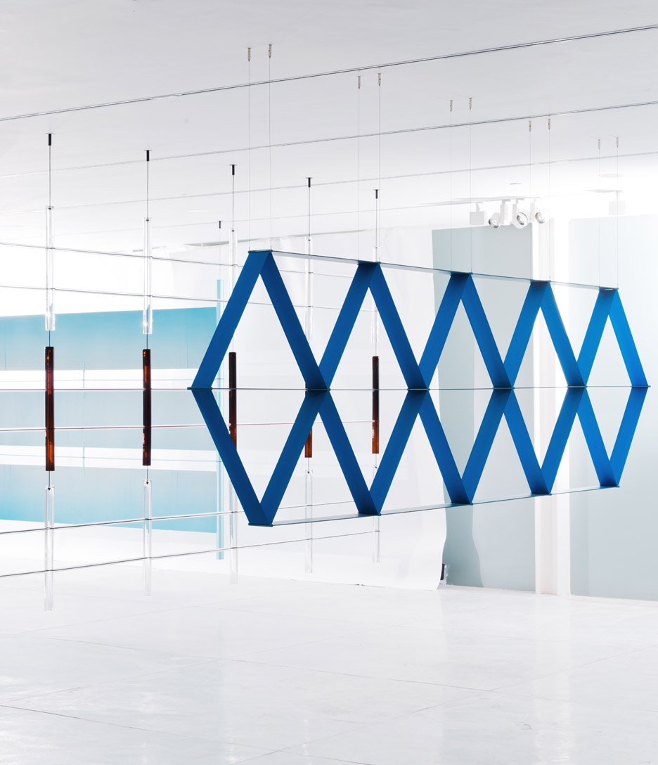 Bouroullec brothers design decorative screens for tel aviv exhibition decor - Erwan ronan bouroullec ...