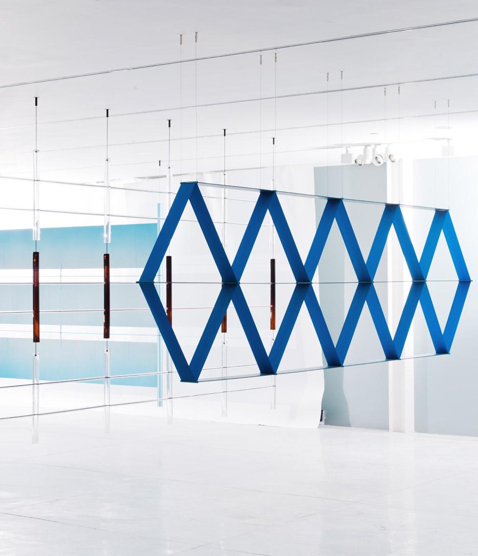 Ronan & Erwan Bouroullec bouroullec brothers design 17 screens for tel aviv exhibition