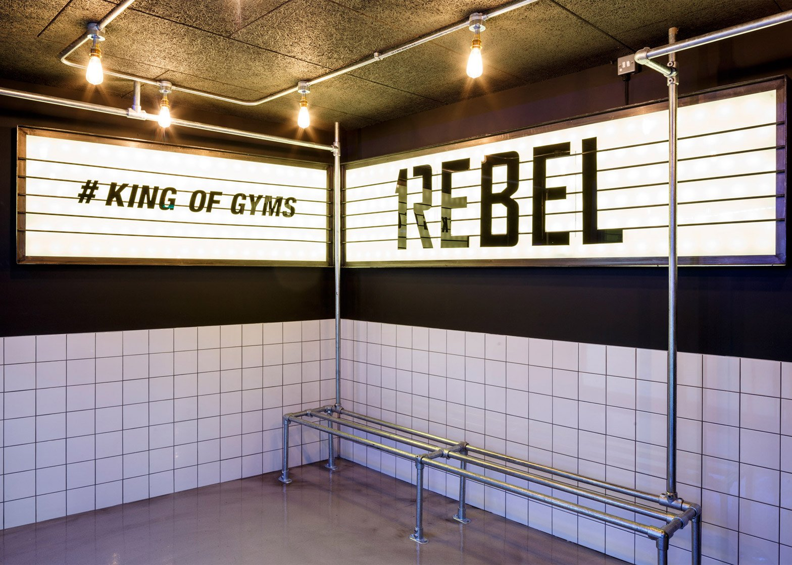 1Rebel gym by Studio C102