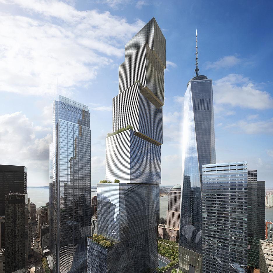 big unveils design for two world trade center