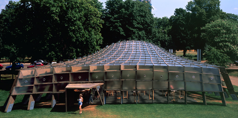 2005 Serpentine Gallery Pavilion by Alvaro Siza and Eduardo Souto de Moura