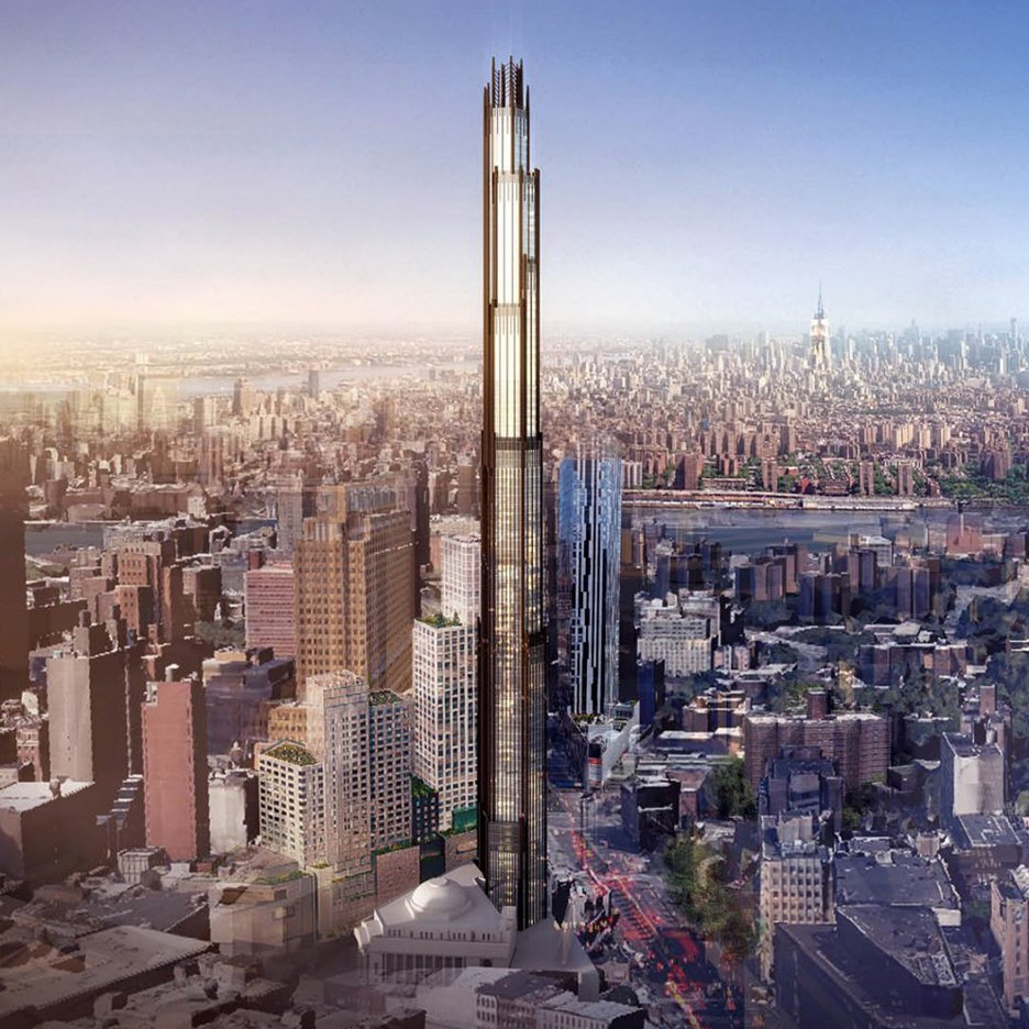 Plans unveiled for super-tall tower in Brooklyn by SHoP Architects