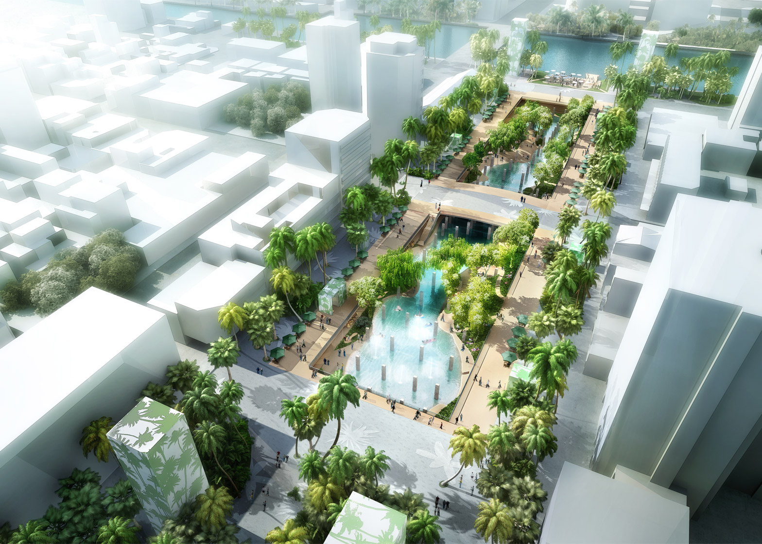 Urban pool by MVRDV