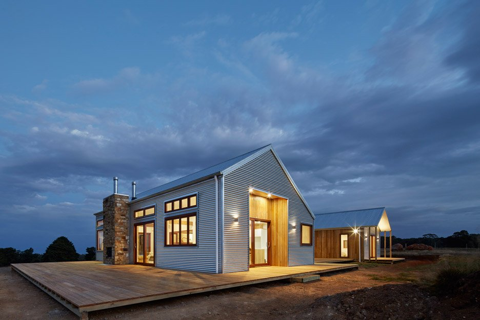 designer shed homes. 700 Haus By Glow Design Group Corrugated Steel Provides Durable Facade For House