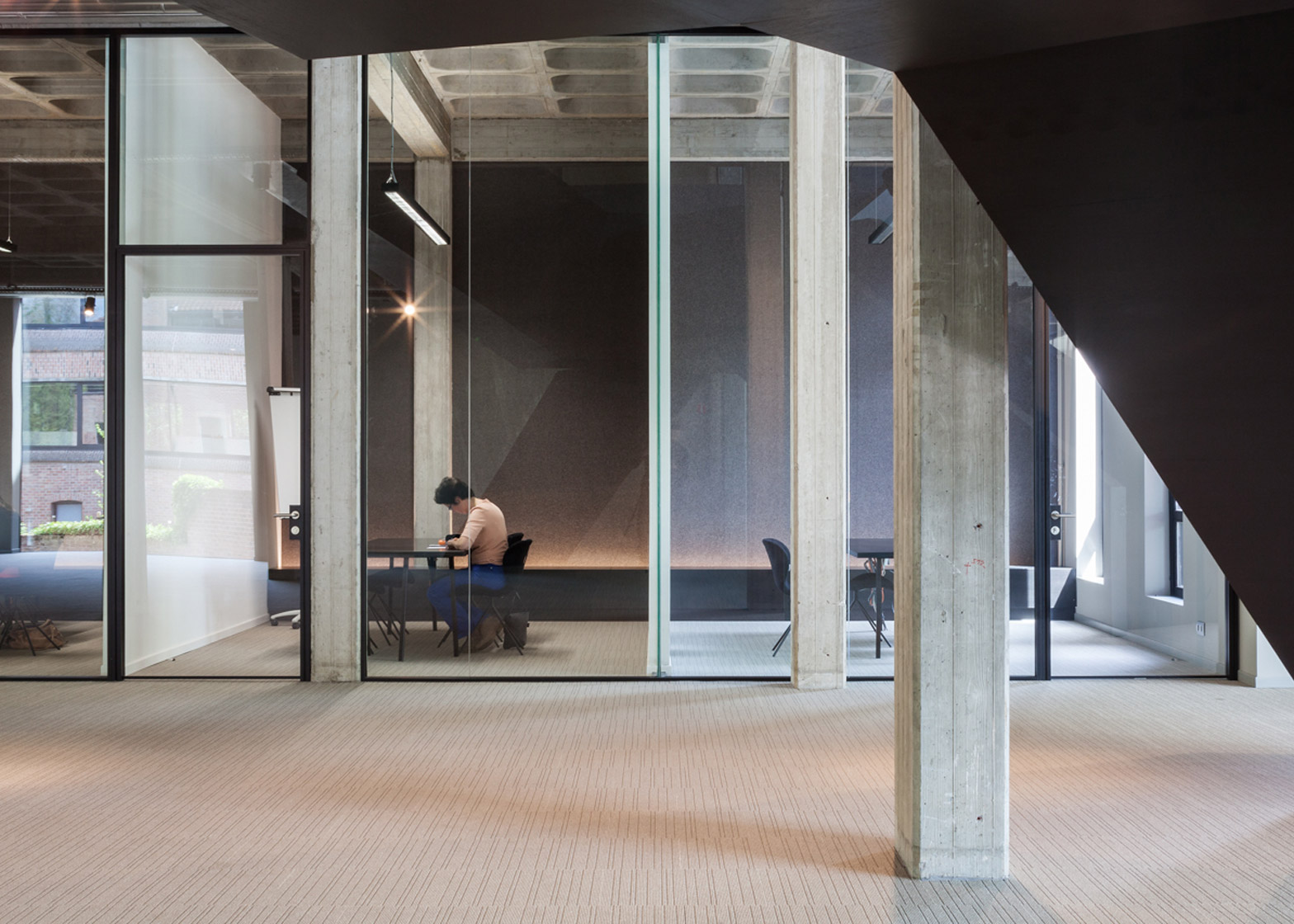 AGO HQ by Steven Vandenborre Architects