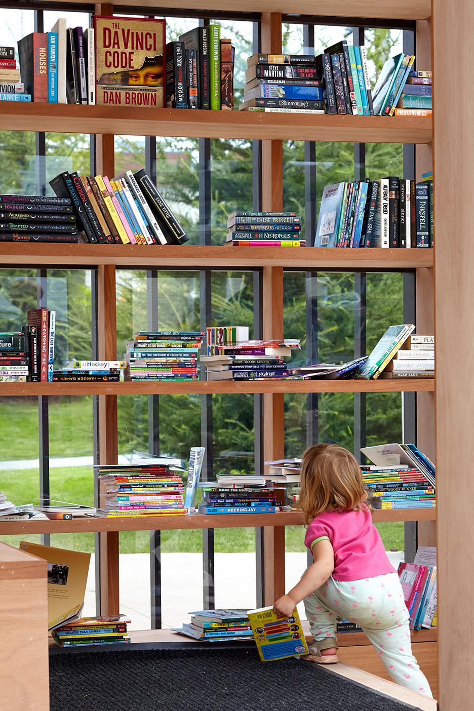 Story Pod library by Atelier Kastelic Buffey