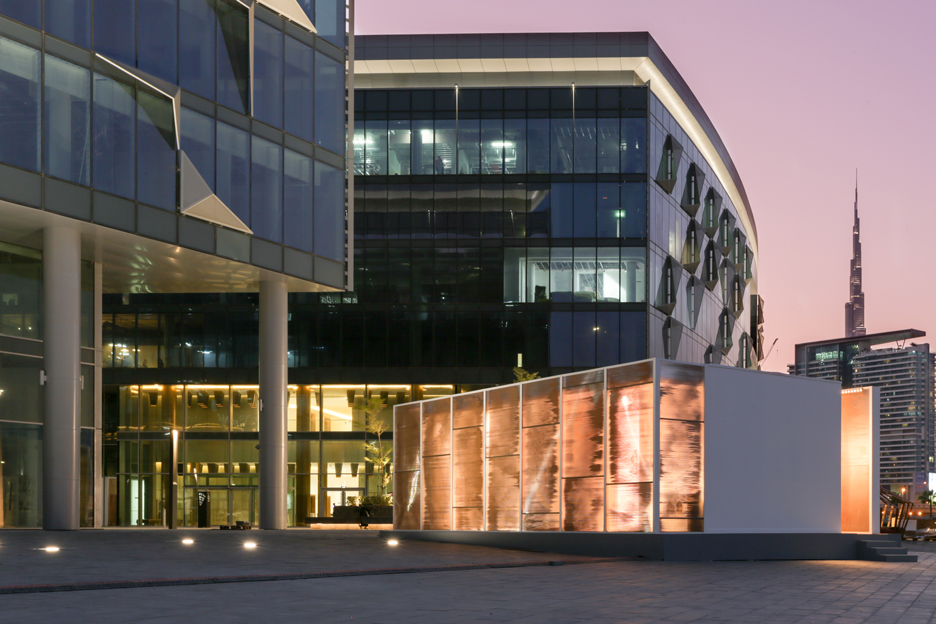 Abwab pavilion at Dubai Design District