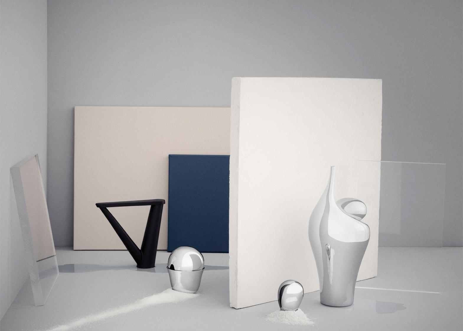 Aldo Bakker steel tableware
