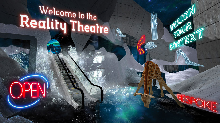 The Reality Theatre Virtual Reality Mall by Allison Crank