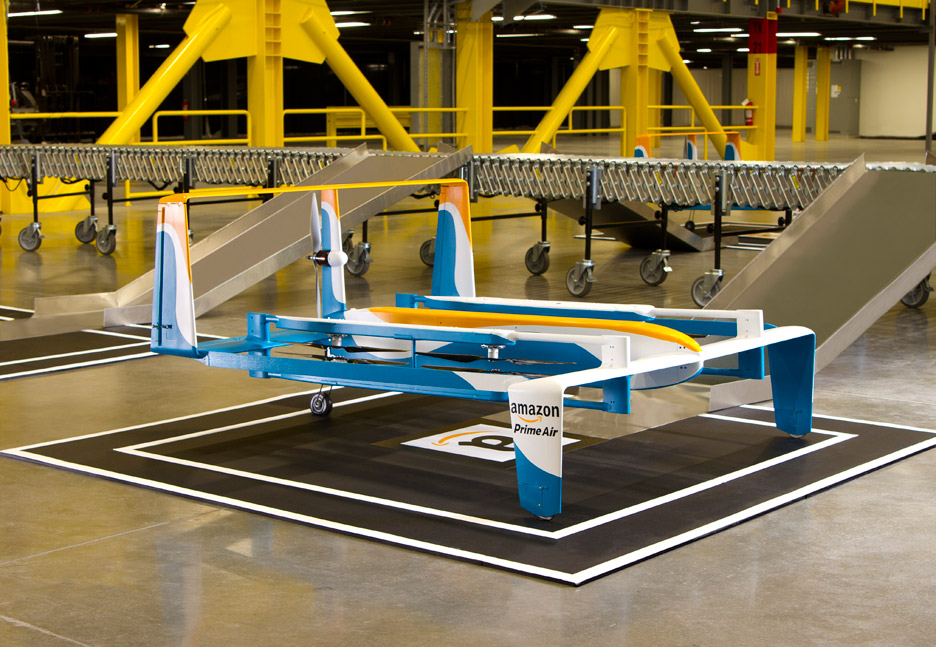 Prime Air delivery drones by Amazon