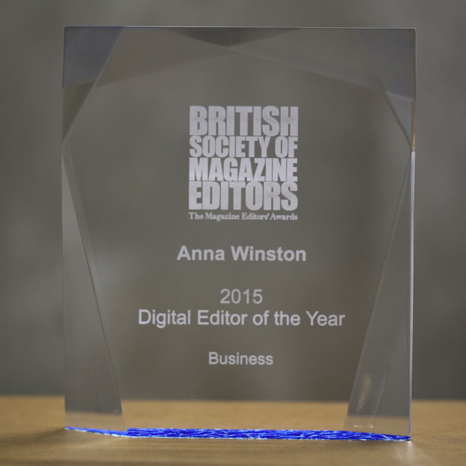 Dezeen's Anna Winston named BSME Business Digital Editor of the Year